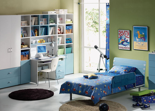 boy kid bedroom