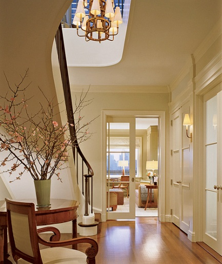 Choosing hall decorations for a warm welcome for Simple foyer designs